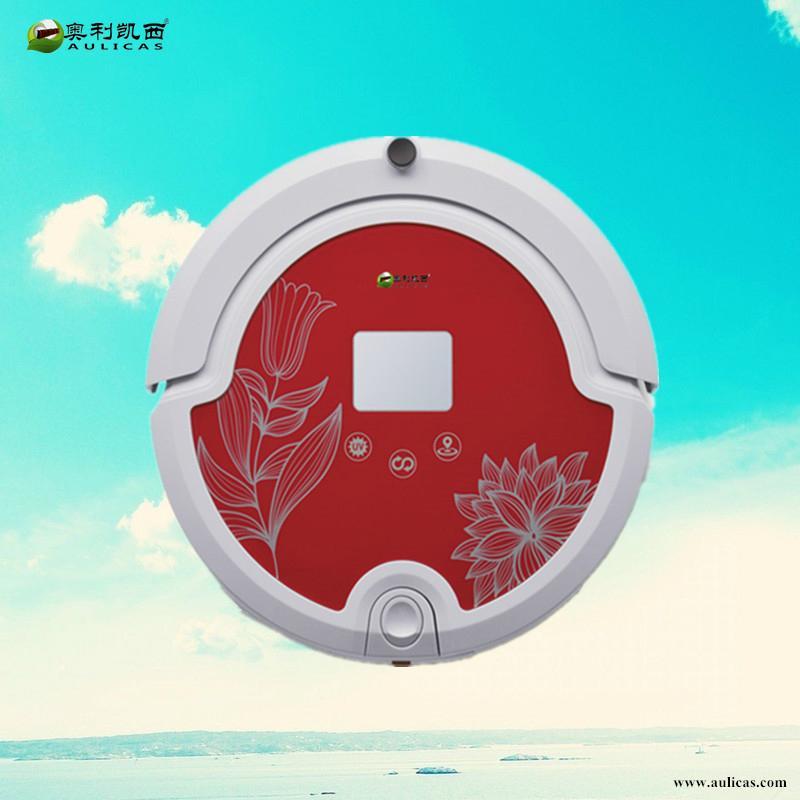 厂家批发OEM保洁机器人/尊享系列/自动回冲灰尘识别遥控控制吸尘器 3