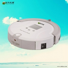 Aulicas Automatic Intelligent Vacuum cleaner Robot Cleaner with LCD