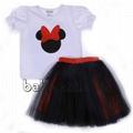 Cute disney tutu dress set for girl - DR