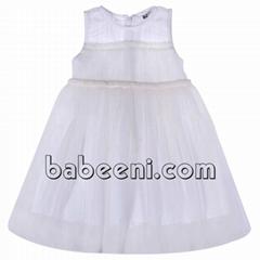 Gorgeous white girl party dress - DR 2314