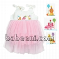 Lovely three tiered tutu dress with cute