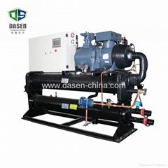 1100hp 工业开放式比泽尔单压缩机冷水机组