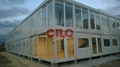 Mobile House Cabin Container with Large Glass Windows 1