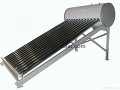 12 Tubes Non-pressurized Galvanized Solar Water Heater