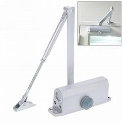 15-150kgs Aluminum Door Closer Two Independent Va  e Control Sweep Wonderful