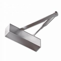 Automatic Hydraulic 40-65 kgs Door Closer Aluminum Alloy Door Closing Devices