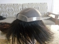 Indian Hair Super Thin Skin Invisible Knot Toupee 3