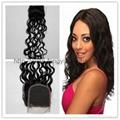 Mongolian Virgin Hair 18inch Jewish Wig with Silk Top Kosher Wig Wavy Layer  3