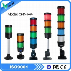 ONN M4 four colors four layers industrial warning signal light for cnc machines