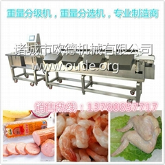 Automatic conveyor checkweigher Weight