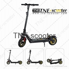 TNE 10-inch off-road 2-wheel electric foldable scooter