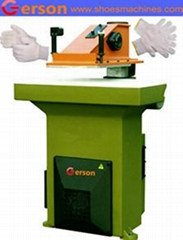 Cotton Nylon Fabric Gloves Cutting Machine