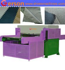 Jacquard Checker Honeycomb Microfiber Suede Fabric Die Cutting Machine