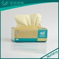 OEM Soft Packed Paper Facial Tissue Bamboo Facial Paper 2