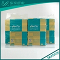 OEM Soft Packed Paper Facial Tissue Bamboo Facial Paper 3