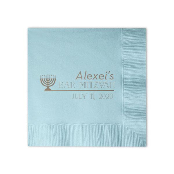 factory wholesale custom logo printed cocktail paper serviettes elegant paper na 1