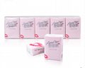 Bamboo Pulp Factory House Keep OEM Pocket Tissue Handkerchief Paper 3