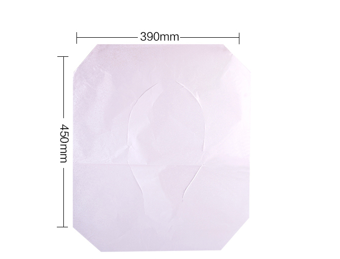 Health Care Disposable Flushable 1/2 Folds Toilet Seat Cover Paper Manufacturer 3