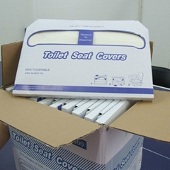 Health Care Disposable Flushable 1/2 Folds Toilet Seat Cover Paper Manufacturer