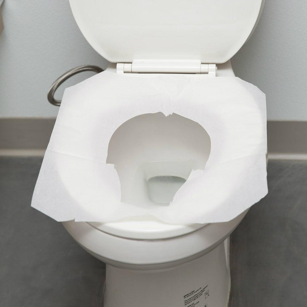 Health Care Disposable Flushable 1/2 Folds Toilet Seat Cover Paper Manufacturer 2