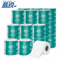 wholesale core standard roll 3 ply white toilet tissue roll china toilet paper 2