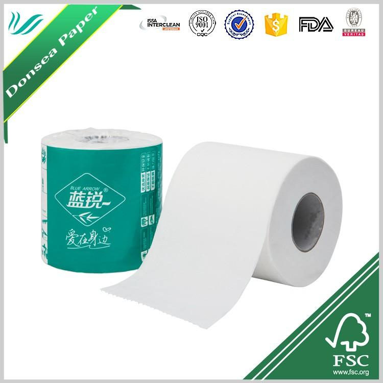 wholesale core standard roll 3 ply white toilet tissue roll china toilet paper 1