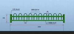 锌钢草坪栅栏