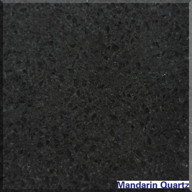 quartz stone countertop black 1