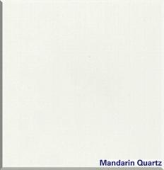 Artificial quartz stone pure white