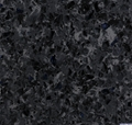 Artificial quartz stone stellar black