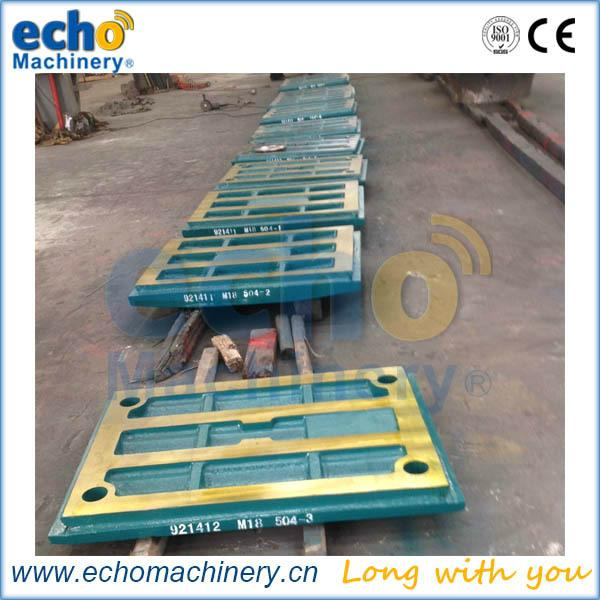 jaw crusher wear parts Metso C96 C110 C125 moving jaw die for crushing stone 3