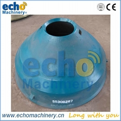 Metso hp300 cone crusher mantle