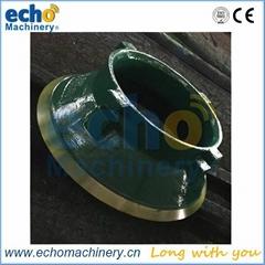 McCloskey C44 cone crusher parts concave