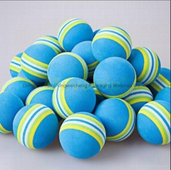 Kids Funny Toy Balls 3.5cm Rainbow Color EVA Material Ball Foam Sponge Children'