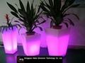 color changing LED flower pot  4
