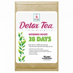 100% Organic Herbal Detox Tea Slimming Tea Weight Loss Tea (morning boost tea 28