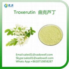 High Purity Herbal Ingredient Natural Sophora Japonica Extract Troxerutin EP 98%