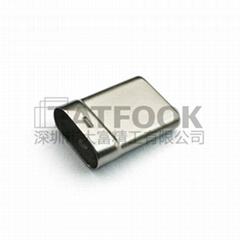 USB Type-C转接头公头 USB3.1数据线外壳