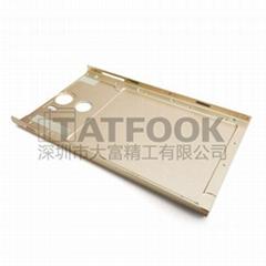 手机铝合金外壳CNC机加工