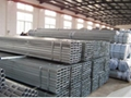 GI square and rectangular pipe tube for