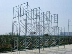 scaffolding main frame system for