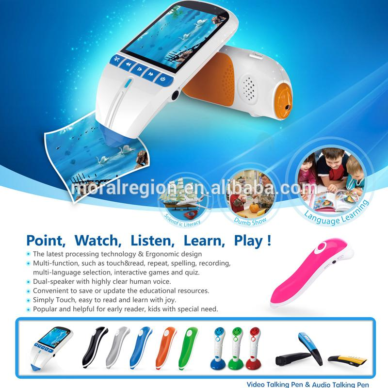 Sell reading pen, talking pen with language learning books 5