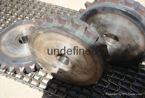 Horseshoe Type Mesh Belt the great wall conveyor belt 1