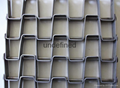 Quenching Furnace Mesh Belt Honeycomb metal mesh belt conveyor belt  1