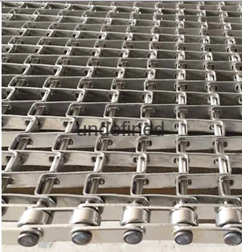 Quenching Furnace Mesh Belt Honeycomb metal mesh belt conveyor belt  2