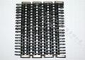 Glass mechanical conveyor belt is the