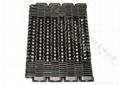 Glass mechanical conveyor belt is the silent chain 3