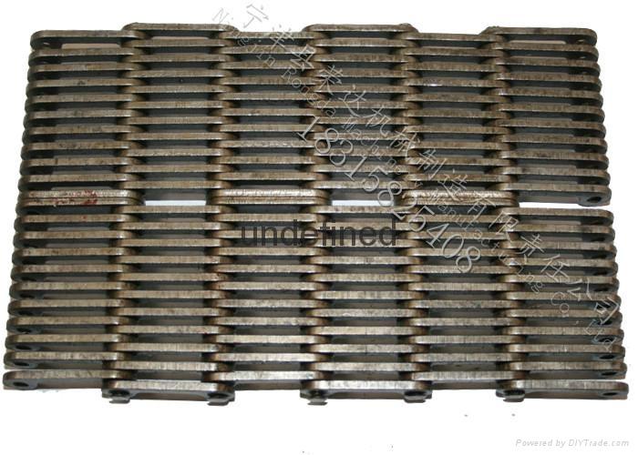 Glass mechanical conveyor belt is the silent chain 4