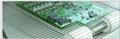 Electronic reflow soldering flat flex