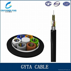 GYTA Multi Core Optical Fiber Cable Single-Mode Stranded Loose Tube Fiber Cable